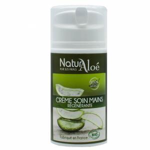 Crème mains régénérante bio à l'Aloe vera 50ml