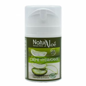 Crème hydratante visage bio à l'Aloe vera 50ml