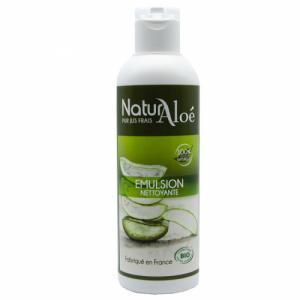 Emulsion nettoyante bio à l'Aloe vera 200ml