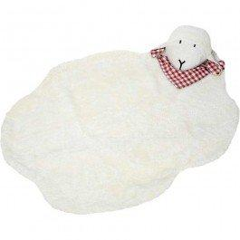 Tapis de jeu Mouton en coton biologique 95 x 75 cm