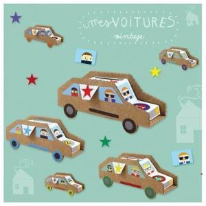 Ateliers créatifs 'mes voitures vintages' pirouette cacahouète -