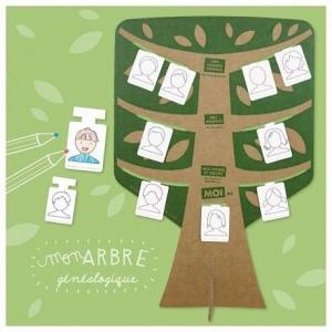 Kit ateliers créatifs 'mon arbre généalogique' pirouette