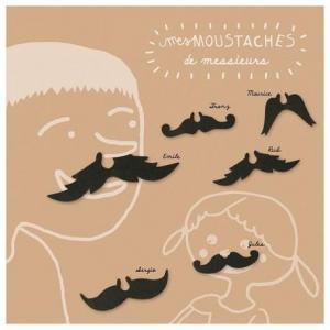 Loisirs créatifs 'mes petites moustaches messieurs'  pirouette