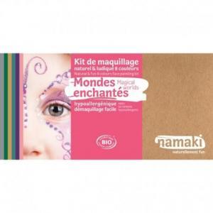Coffret maquillage bio namaki '8 couleurs monde enchanté' -