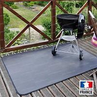 Tapis de protection de sols pour Barbecue
