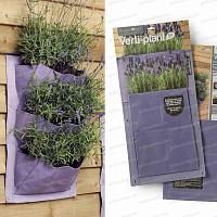 Verti-Plant 3 poches - lot de 2- couleur Lavande