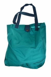 Sac tote bag coton imprimé turquoise funny pelion