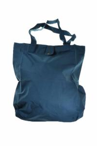 Sac tote bag coton happy blue koh tao bleu