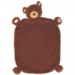 Doudou plat apple park ours cubby coton bio - jouets bio