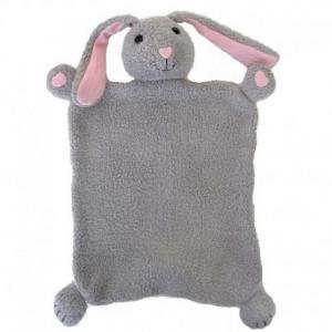 Doudou plat apple park lapin bunny  coton bio - jouets bio