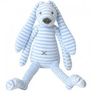 Happy horse lapin reece peluche doudou bleu 45 cm - jouets