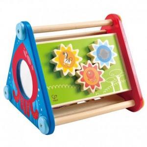 Triangle d'activités mes animaux préférés hape  - jouets en bois
