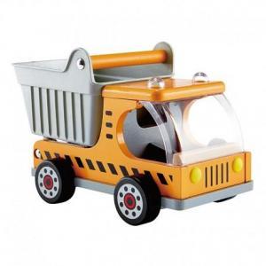 Camion benne en bois dumper truck hape - jouets en bois