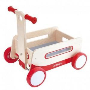 Chariot en bois wagon merveilleux hape - jouets en bois hape