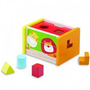 Wonderworld boite à formes puzzle safari - jouets en bois