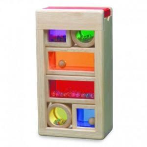 Jouets cubes d'activités sensorielles wonderworld - jouets bio