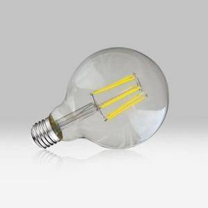 LED 8W Filaments BULB G95 E27 2700K Claire - VISION-EI