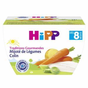 HiPP Bol Mijoté de Légumes Colin 8m