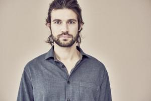 Chemise homme avec poche plaquée en chanvre et coton bio