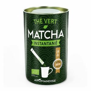 Thé Vert Matcha bio instantané - 25 sticks