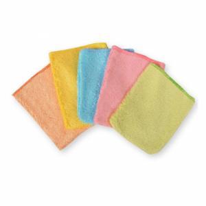 Petits gants d'apprentissage en bambou pour enfants - 5 gants multicolores
