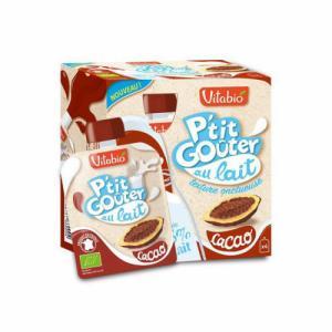 Vitabio P'tit goûter lait Cacao 36m
