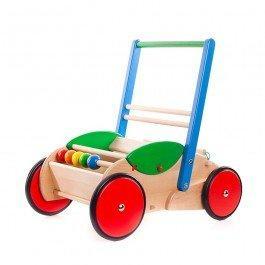 Chariot de marche bleu-vert