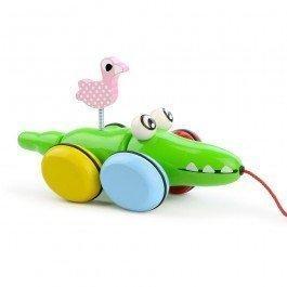 Croc et Odile jouet à traîner