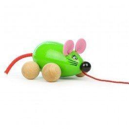 Souris Verte jouet à traîner