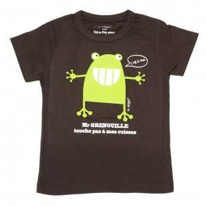 T-shirt  grenouille