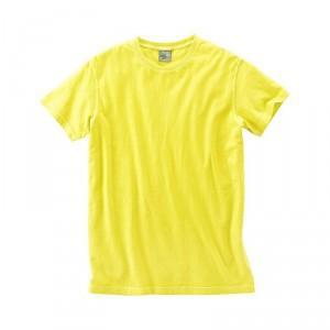 T-shirt extra léger chanvre coton bio jaune Brisko