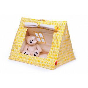 Mini tente jaune