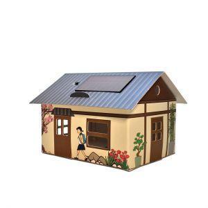 Veilleuse carton maison Japon