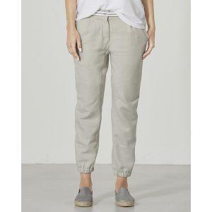 Pantalon chino slim  coton bio et chanvre Heik