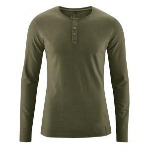 T-shirt Manches longues chanvre et coton bio Daniel