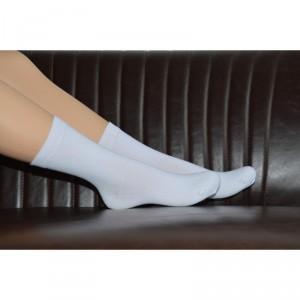 Chaussettes blanches coton bio