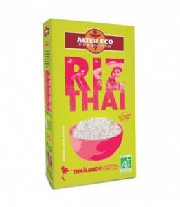 Riz Thaï (variété Hom Mali) riz blanc bio et équitable