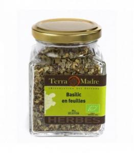 Basilic en feuilles bio (petit pot)