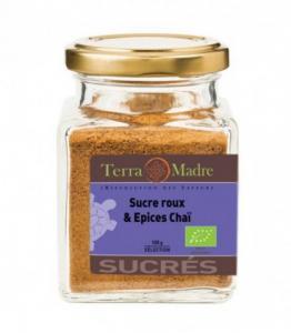 Sucre - épices chaï bio - DERNIERS STOCKS
