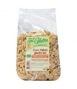 Corn flakes glacés bio - sans gluten