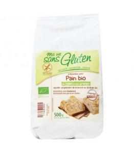 Préparation pour pain bio au millet et aux graines bio - sans gluten