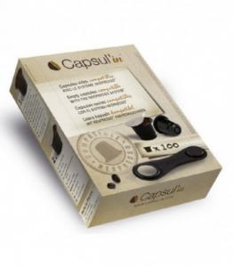 100 capsules vides pour café 100 % compatibles NESPRESSO ®