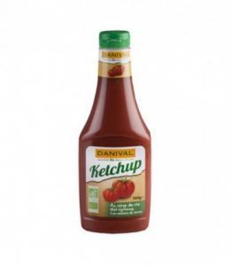 Ketchup bio au sirop de riz