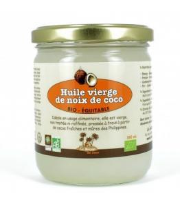 Huile vierge de coco bio - équitable