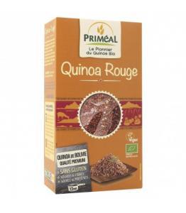 Quinoa rouge bio, vegan et sans gluten
