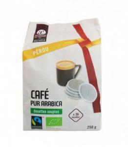 Café Dosettes Pérou bio 100% Arabica Compatible SENSEO®