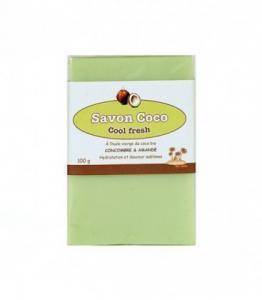 Savon Coco Cool Fresh : Concombre - Amande