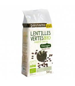 Lentilles vertes bio - équitable