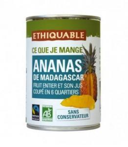 Ananas entier et son jus bio - équitable