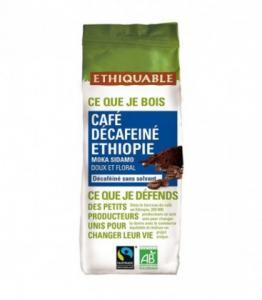 Café décafeiné Ethiopie MOULU bio - équitable